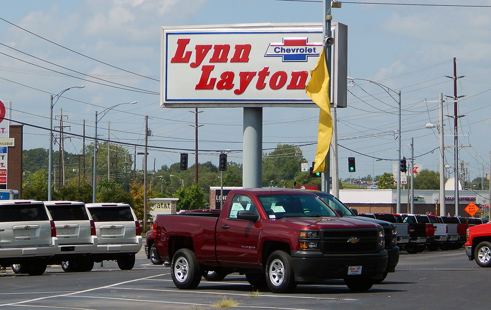 Lynn Layton Chevrolet >> Jones Fence Enterprises Commercial Fence Installation For Lynn