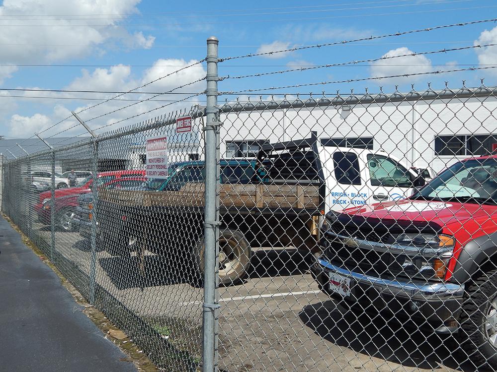 Jones Fence Enterprises Commercial Fence Installation
