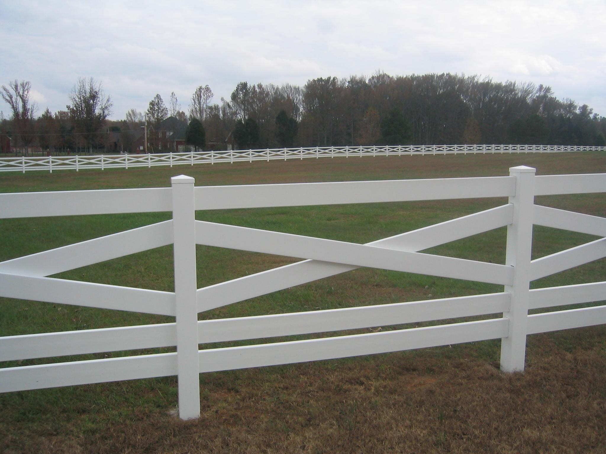 Jones Fence Enterprises - Residential Vinyl Fence Installations