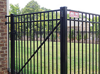 Metal Fencing From Jones Fence Enterprises